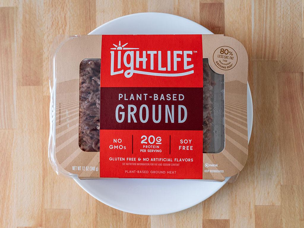 Lightlife Plant Based Ground meat