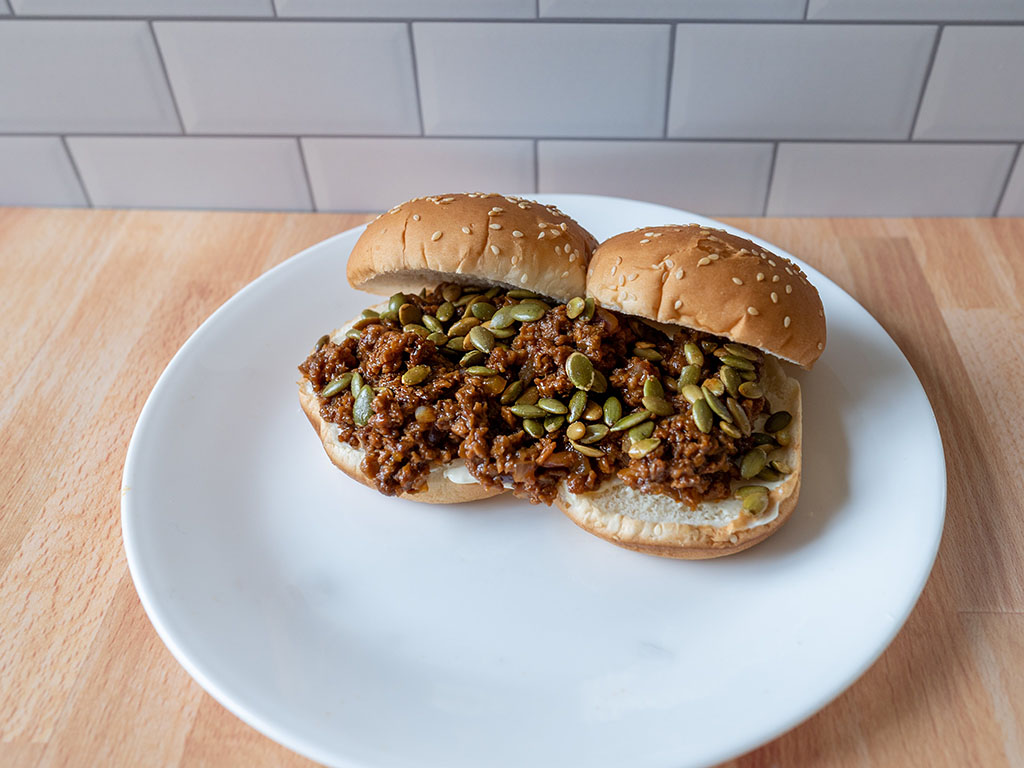 Vegan sloppy joes