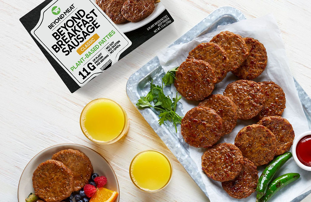 Beyond Breakfast Sausage launches (Beyond Meat)