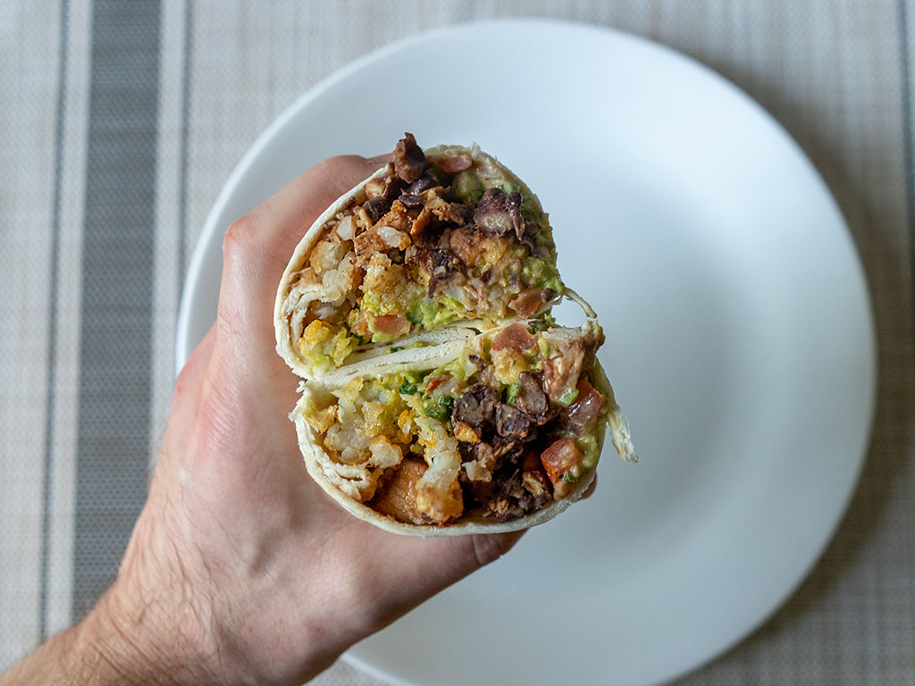 Burrito With Ore-Ida Crispy Crowns
